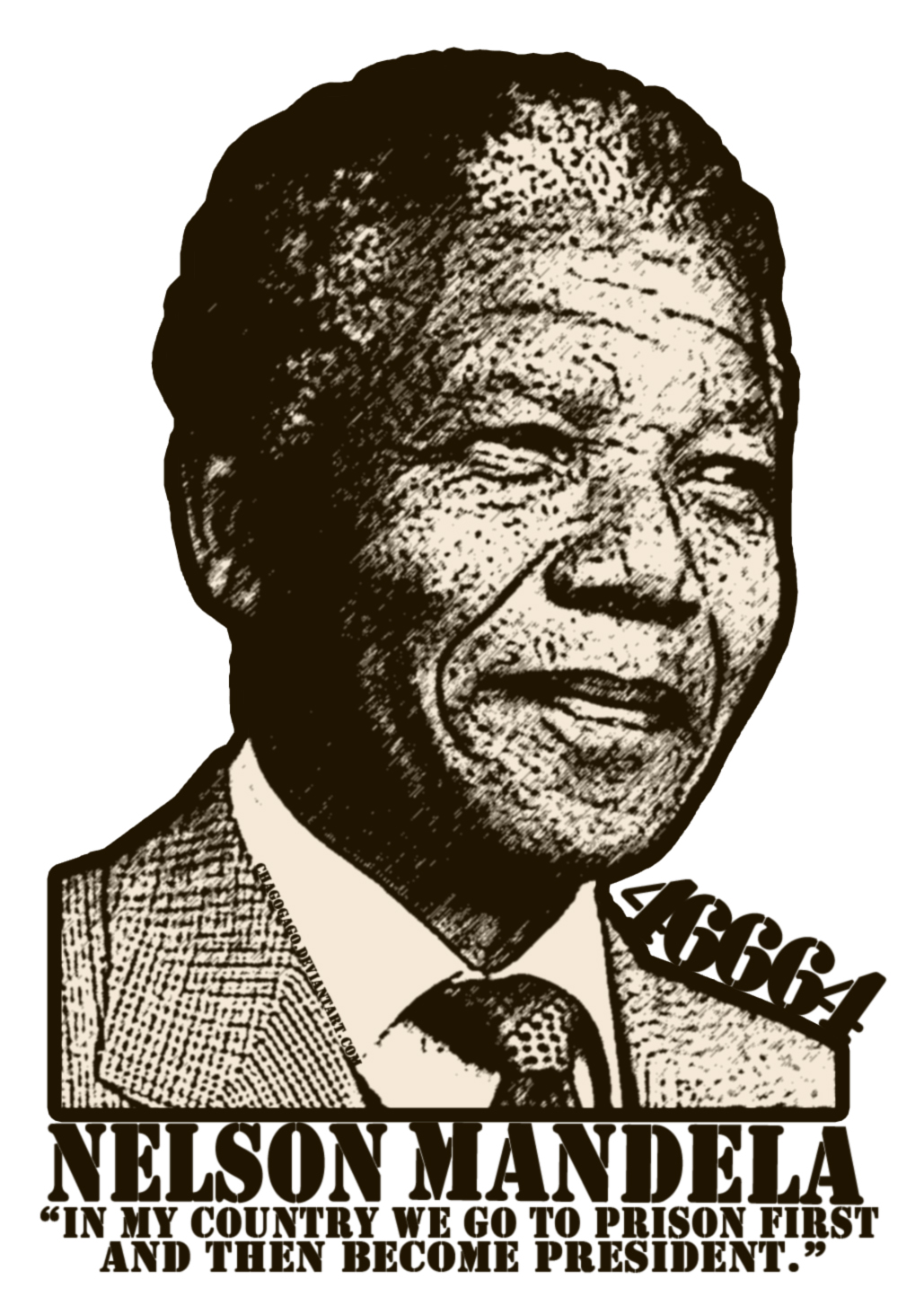 NELSON_MANDELA__MY_HERO_by_chagogago