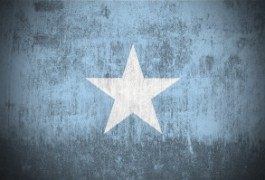 Grunge Flag Of Somalia