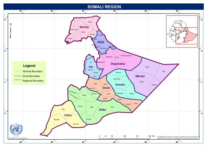 Somali regional state of ethiopia the corrosive impact of somali region sciox Gallery