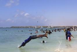 Somalia Lido beach