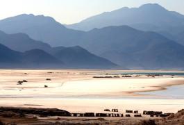 B451MK Lac Assal, Djibouti. Image shot 2007. Exact date unknown.
