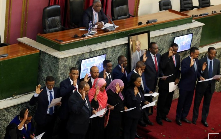 Image result for Cabinet Reshuffling of premier abye ethiopia