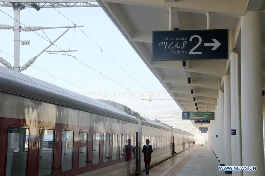 Electrified railway opens up new horizons for Ethiopia's