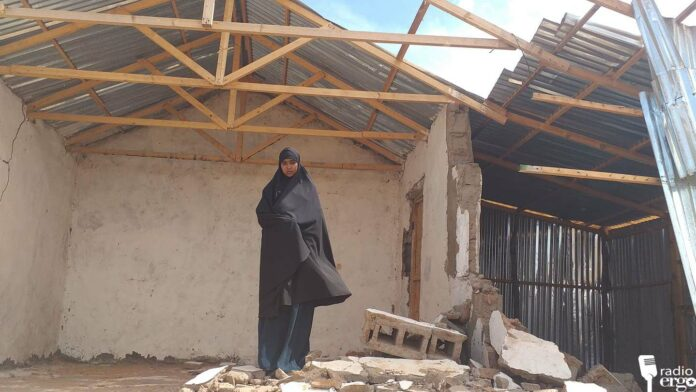 Families left in the cold as houses in Kismayo housing