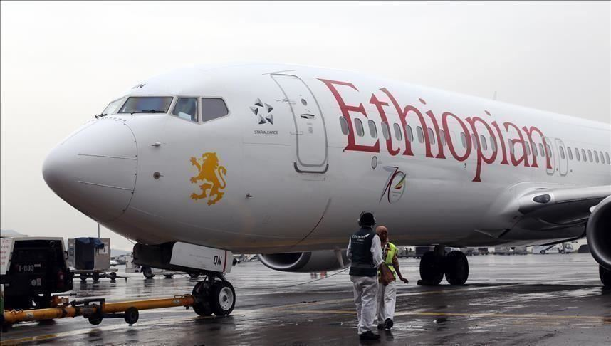 Protesters outside Ethiopian Airlines offices in Uganda demand refund