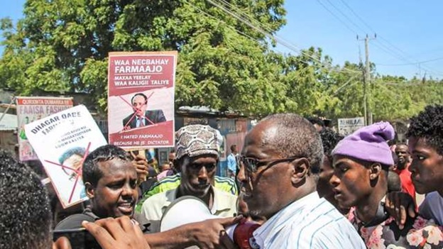Farmaajo, nationalist hero and 'defender of the republic', fights for survival