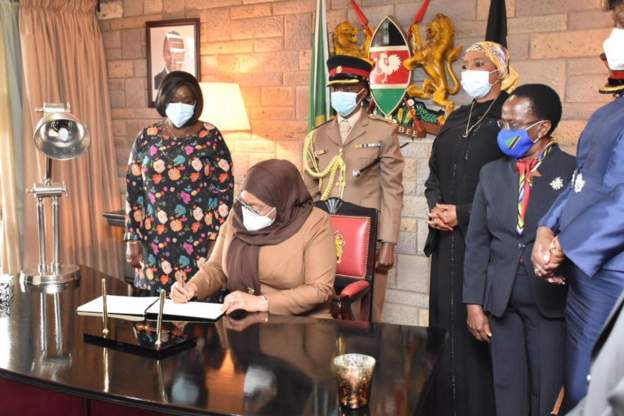 Tanzania's president in bid to improve Kenya ties