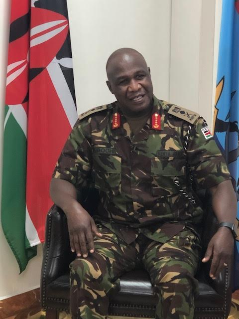 Gen Kibochi: KDF not ready to leave Somalia, events in Ethiopia worrying