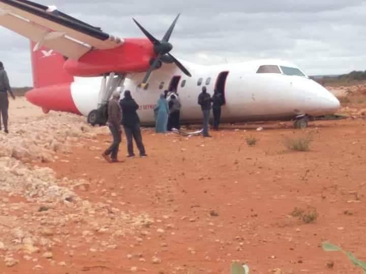 41 passengers unhurt after Skyward flight crash lands in Elwak